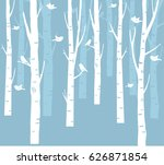trees background. the trunk and ... | Shutterstock .eps vector #626871854