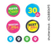 super sale and best offer... | Shutterstock .eps vector #626880695