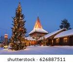rovaniemi  finland   march 5 ... | Shutterstock . vector #626887511