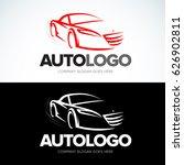 'auto logo' car logotype   car... | Shutterstock .eps vector #626902811