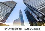 bottom view of modern... | Shutterstock . vector #626905085