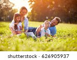 children enjoying in making... | Shutterstock . vector #626905937