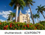 santa ana church  merida  mexico | Shutterstock . vector #626908679