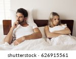 unhappy couple having problems... | Shutterstock . vector #626915561