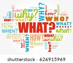 questions whose answers are... | Shutterstock .eps vector #626915969