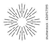 sun rays | Shutterstock .eps vector #626917595