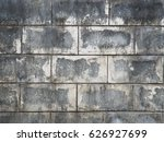 old block wall texture... | Shutterstock . vector #626927699