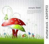 beautiful vector landscape... | Shutterstock .eps vector #62693953