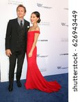 Small photo of LOS ANGELES - APR 22: Sebastian Roche, Alicia Hannah at the 2017 The Humane Society Gala at Parmount Studios on April 22, 2017 in Los Angeles, CA