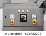 the main power and control... | Shutterstock . vector #626952179