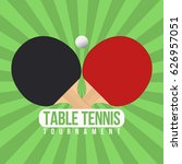 Table Tennis Tournament Badge...