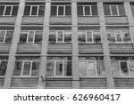 vintage windows background  | Shutterstock . vector #626960417