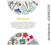 culture of malaysia template....   Shutterstock .eps vector #626962235