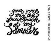 hand lettering inspirational... | Shutterstock .eps vector #626967875