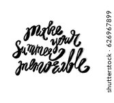 hand lettering inspirational... | Shutterstock .eps vector #626967899