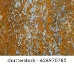 grunge abstract rusty... | Shutterstock . vector #626970785