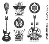 Vintage Rock And Roll Music...