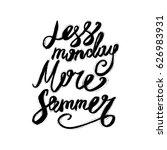 hand lettering inspirational... | Shutterstock .eps vector #626983931