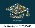 business icons are grouped in ...   Shutterstock .eps vector #626988449