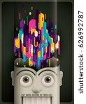abstract style illustration...   Shutterstock .eps vector #626992787