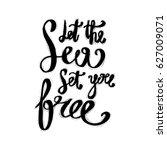 hand lettering inspirational... | Shutterstock .eps vector #627009071