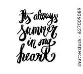 hand lettering inspirational... | Shutterstock .eps vector #627009089