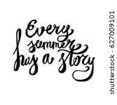 hand lettering inspirational... | Shutterstock .eps vector #627009101