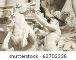 Details Of The Fountain Of Trevi