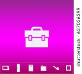 suitcase icon vector. flat...