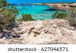 Cala Saona Beach In Formentera...
