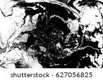 black and white liquid texture  ... | Shutterstock .eps vector #627056825