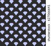 vector gradient diamond... | Shutterstock .eps vector #627066641