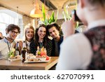 technology  lifestyle and... | Shutterstock . vector #627070991