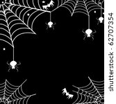 spider web and | Shutterstock . vector #62707354