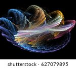 Abstract Multicolored Spiral...