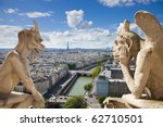 Notre Dame Of Paris  Stryge And ...