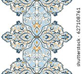 seamless abstract ornate pattern | Shutterstock . vector #627108761