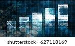 digital abstract background... | Shutterstock . vector #627118169