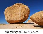 Huge Rock In Erongo Mountains