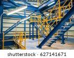 structure of stairway in... | Shutterstock . vector #627141671