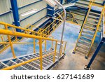 structure of stairway in... | Shutterstock . vector #627141689