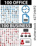 200 office   business signs....