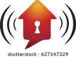 security logo | Shutterstock .eps vector #627147329