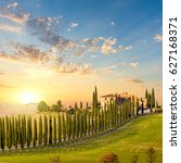 Amazing Landscape Background Tuscany Nature - Fine Art prints