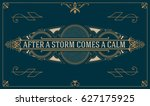 royal logo design template... | Shutterstock .eps vector #627175925