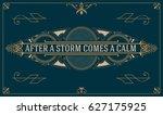 royal logo design template... | Shutterstock .eps vector #627175925