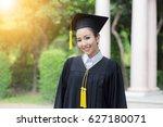 Happy Student Graduate Smile...