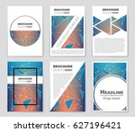 abstract vector layout... | Shutterstock .eps vector #627196421