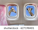 Air Plane Windows With Two...