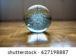 crystal ball | Shutterstock . vector #627198887